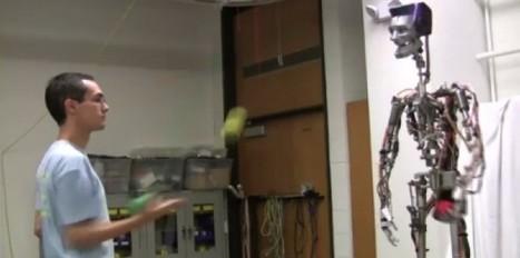 VIDÉO: un robot jongleur qui ne rate (presque) aucune balle | Robolution Capital | Scoop.it