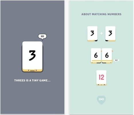 Threes mixes matching and math for a minimalistic strategy game | Knowledge is Power | Scoop.it