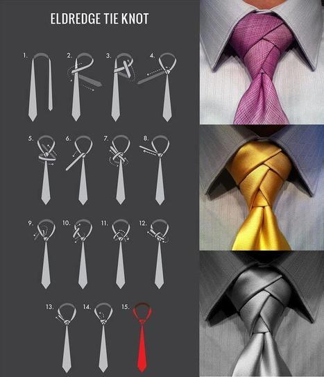 Eldredge Tie Knot | Random Sites I Like | Scoop.it