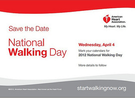 Rebuilding Place in the Urban Space: Tomorrow is National Walking Day | Sustainable Futures | Scoop.it