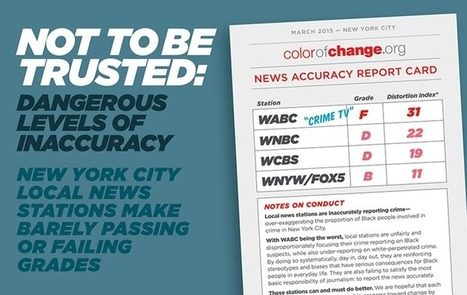 ColorOfChange | Not To Be Trusted: Dangerous Levels of Inaccuracy in TV Crime Reporting in NYC | fitness, health,news&music | Scoop.it
