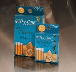Electronic Cigarettes, Cartridges & Cartomizer, Ecigs | Fifty-One - Vapor Electronic Cigarette | Scoop.it