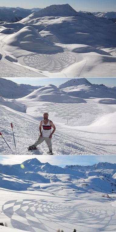 'Crop Circles' in Snow-Capped Mountains | Géographie : les dernières nouvelles de la toile. | Scoop.it