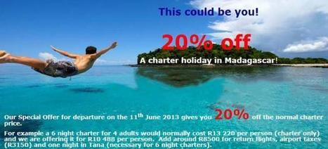 Madagascar Special 20% off Charter price | Social Media Consultants | Scoop.it
