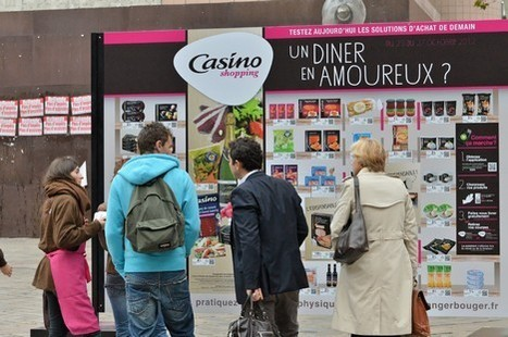 Casino installe un mur de shopping virtuel à Lyon | Revue de presse pour commerçants connectés | Scoop.it