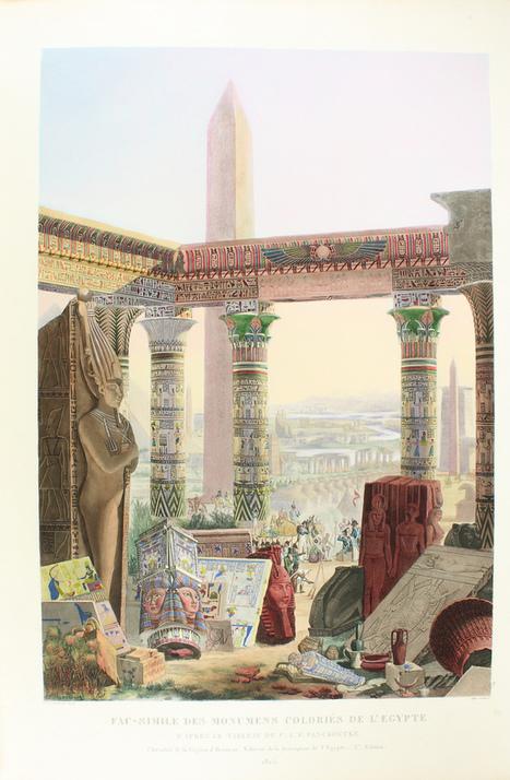 """Exposition """"La Description d'Egypte"""" (Université de Poitiers)   Égypt-actus   Scoop.it"""