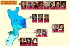 Politiche 2013. La mappa completa degli eletti calabresi La delegazione parlamentare parla cosentino, ma non solo | Elezioni in Calabria | Scoop.it
