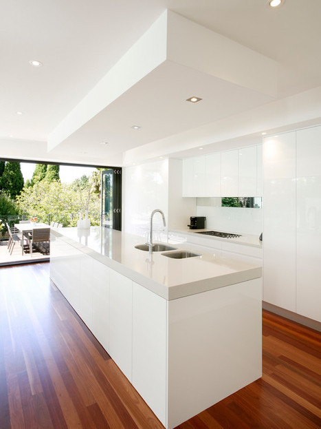 Modern Kitchen Design Ideas, Pictures, Remodel and Decor | Home living Spaces - Kitchen - Bathroom - Living | Scoop.it