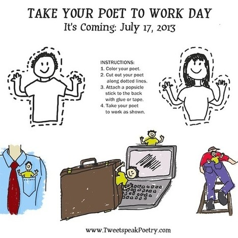 Take Your Poet to Work Day - Book Patrol | Shareworthy Poetry | Scoop.it