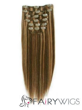 """Awe-Inspiring 12""""-30"""" Long Hair Extensions Clip On : fairywigs.com 