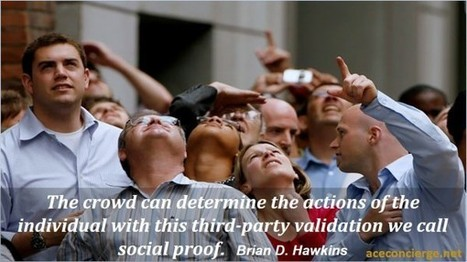 The Power of Social Proof - Do you look for social proof before making a purchase? @AceConcierge | MarketingHits | Scoop.it