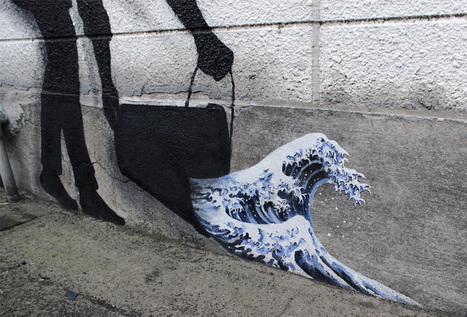 Street-art : Les questions POLITIQUES et SOCIALES asiatiques vues à travers l'oeil de Pejac | actions de concertation citoyenne | Scoop.it