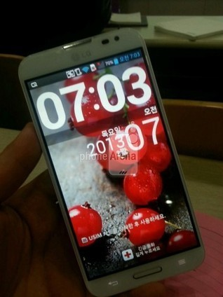 LG Optimus G Pro+ spotted with extra massive display | Mobile IT | Scoop.it