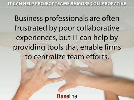 IT Can Help Project Teams Be More Collaborative - Baseline | Virtual R&D teams | Scoop.it