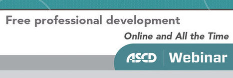 ASCD Webinars - Revisiting The Differentiated Classroom: Looking Back and Ahead with Carol Ann Tomlinson | Supporting Differentiated Instruction | Scoop.it