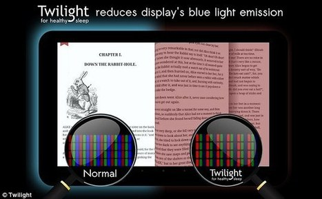 Apple unveils new 'night mode' for iPad and iPhone users | Kickin' Kickers | Scoop.it