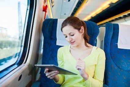 Lecture numérique gratuite en Gare Montparnasse - Compagnon Parfait   qrcode   Scoop.it