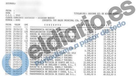 #EsperanzaAguirre y su marido ingresaron un cheque de cinco millones de euros cuando ella era presidenta #corrupcion ? | Noticias en español | Scoop.it