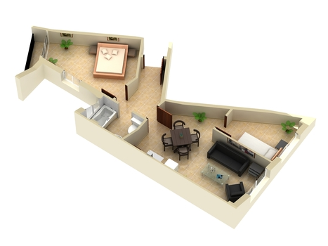 3D Floor Plans Design: 3d House Floor Plans Modeling & Rendering | Hi-Tech Outsourcing Services | Scoop.it