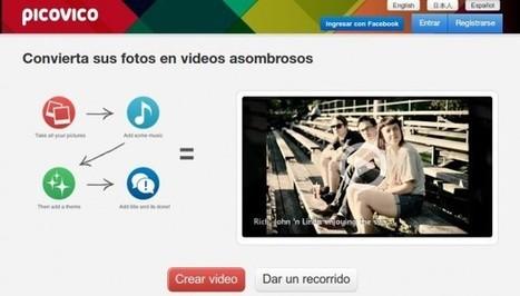 picovico, para transformar fotos en vídeos con efectos | Herramientas, aplicaciones | Scoop.it