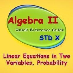 Álgebra II - Alianza Superior | Álgebra II | Scoop.it