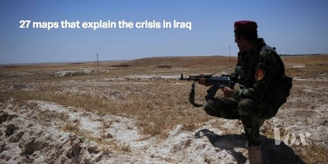 27 maps that explain the crisis in Iraq | nobodiness | Scoop.it