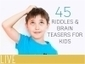45 Riddles and Brain Teasers for Kids | ESL Lesson Ideas | Scoop.it