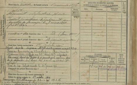 1914-1918 : les registres militaires mis en ligne par les archives de ... - 76actu | Histoire Familiale | Scoop.it