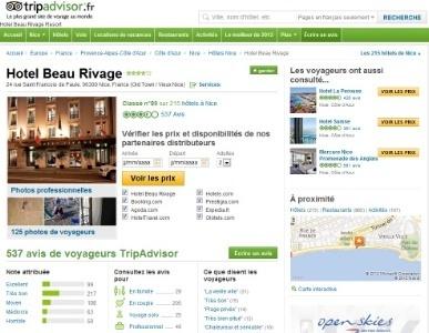 Pour TripAdvisor, les avis négatifs ont peu d'impact sur les réservations | Distribution hôtelière et OTA | Scoop.it
