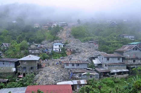 Garbage Landslide in Baguio City, Philippines after Typhoon | Earth Day Everyday Everywhere | Scoop.it