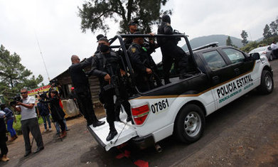 Five Mexico City mass grave bodies identified - The Guardian   mexican drug wars   Scoop.it