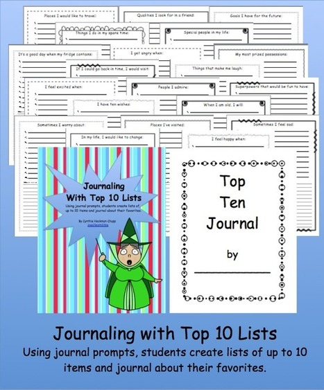 Journal Prompts Using Top Ten Lists In the Classroom | Journaling Helps! | Scoop.it
