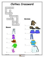 Clothes, English vocabulary, printable Clothes, Dressing, Weather worksheets | Language and Culture | Scoop.it