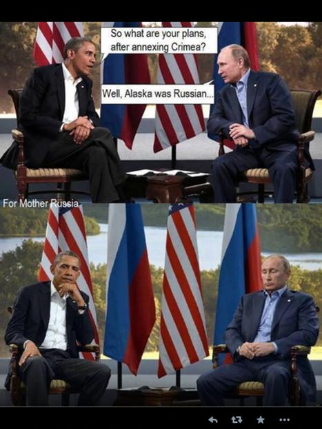 Obama & Poutine conversation | Let me think about it | Scoop.it