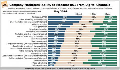 Causes Digital Marketing's Failure? Restricted Budgets & Inability to Measure ROI | Social Media, Mobile, Wearable News & Views | Scoop.it