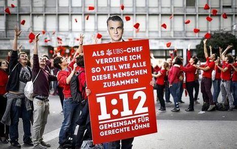 Sveitsiläiset hylkäsivät esityksen johtajien palkkakatosta | Etiikka | Scoop.it