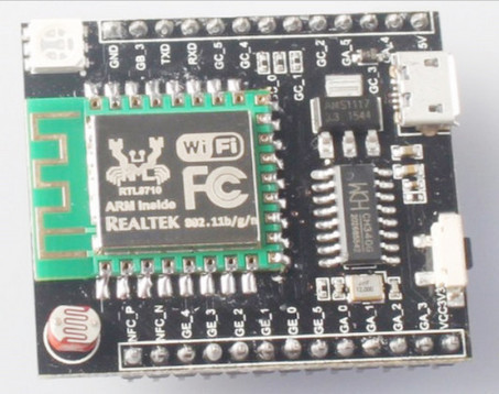 Realtek RTL8710 Witty-like WiFi IoT Board with micro USB Port Sells for $8.82 / 35 RMB | Embedded Systems News | Scoop.it