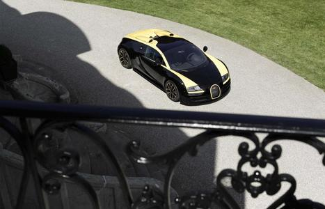 One-Off Bugatti Veyron Makes Surprise Showing At Pebble Beach | Heron | Scoop.it