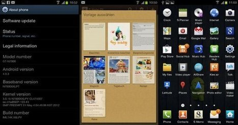 Samsung Galaxy Note Official Indian Ice Cream Sandwich Finally Released | Geeky Android - News, Tutorials, Guides, Reviews On Android | Android Discussions | Scoop.it