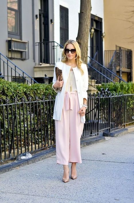 Hot Trend; Spring Culottes   Style & Fashion   Scoop.it