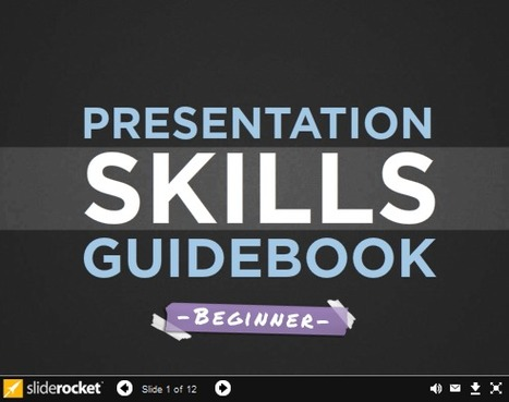 A Presentation Skills Guidebook For Beginners | formation 2.0 | Scoop.it