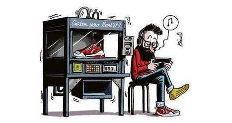 Comment la 3D va révolutionner l'industrie de la chaussure | ENSAIT DOC | Scoop.it