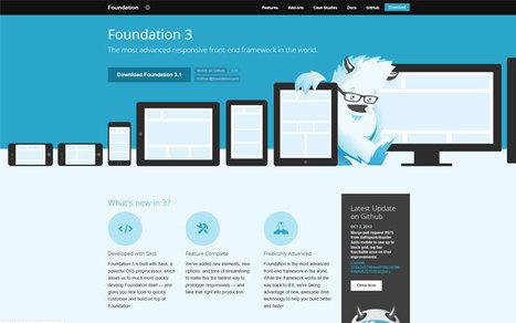 Foundation Framework: Ein HTML-Grundgerüst für Webdesigner | responsive design | Scoop.it