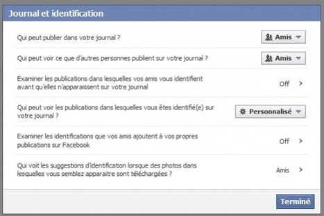 Quelques astuces pour protéger son compte Facebook | So What ? | Scoop.it