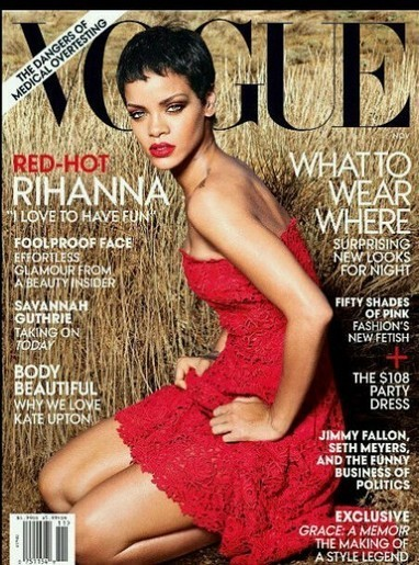 R&B Singer Rihanna Scores Her Second US Vogue Cover : by Styling Amsterdam | socail media with Celebrities | Scoop.it