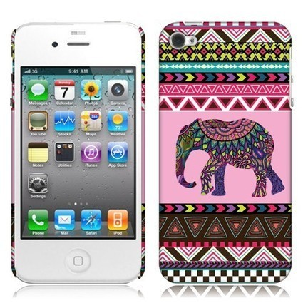 Get the Apple iPhone 4 iPhone 4S Back Cover Case - Aztec Elephant Shipped Free||Acetag.com - Free Shipping in The U.S.A | What is the best Accessories for Cell Phone, tablet and MP3 | Scoop.it