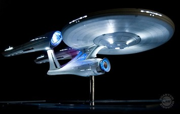 QMx Unveils 2009 Star Trek Movie Enterprise Replica – Yours For $5k | TrekMovie.com | Machinimania | Scoop.it