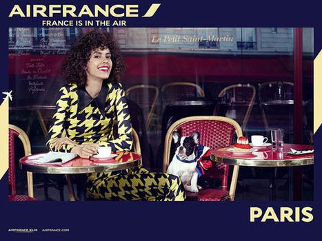 Air France et Paris sur les murs de New York (vidéo) | Médias sociaux et tourisme | Scoop.it