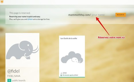 Mammoth. Outil de curation collaboratif | Time to Learn | Scoop.it