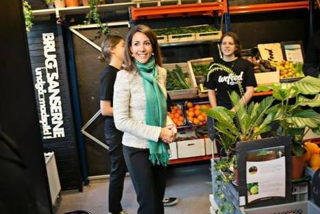 "The world's first food waste supermarket has opened (""why throw when you can still sell discounted?"") 